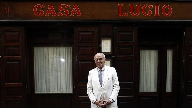 Casa Lucio, the emblematic restaurant of Madrid.