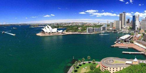 Sydney uitzicht van bovenaf