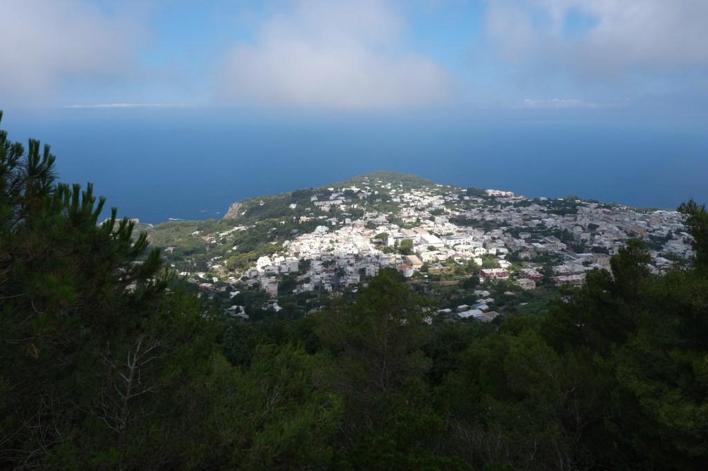 Exploring Capri Island, Italy.