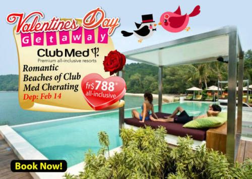 Holiday Package Deals Club Med Cherating Beach Valentine