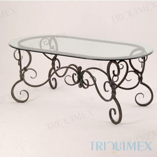 Wrought-Iron-Table-with-Oval-Glass-Top-1