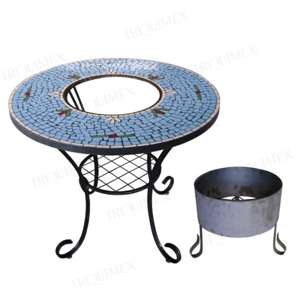 Mosaic BBQ Table
