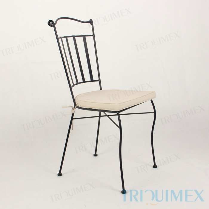 Wrought-Iron-Dining-Chair-Lattice-Seat-10