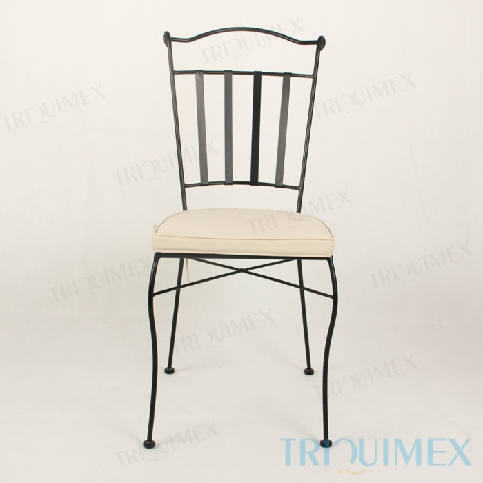 Wrought-Iron-Dining-Chair-Lattice-Seat-11