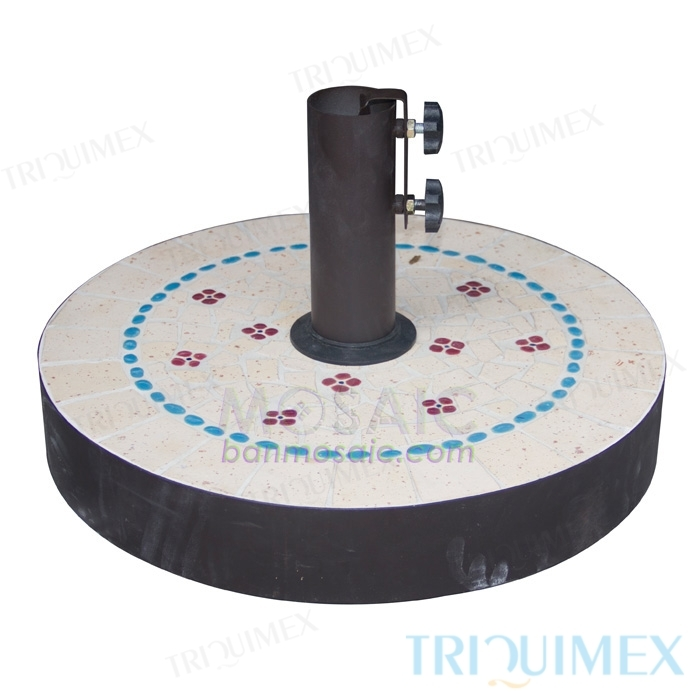 Round-Concrete-and-Mosaic- Parasol-Base-1