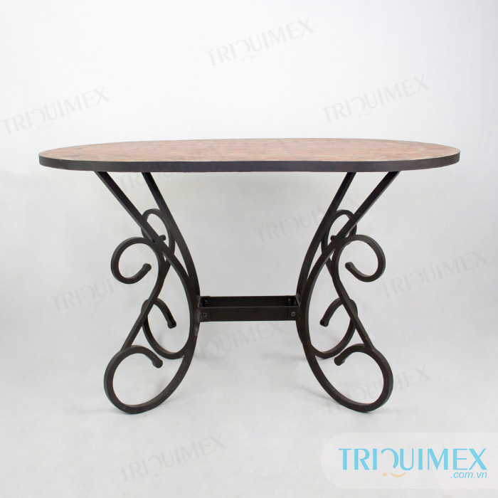 Oval-Tile-Top-Outdoor-Dining-Table-5