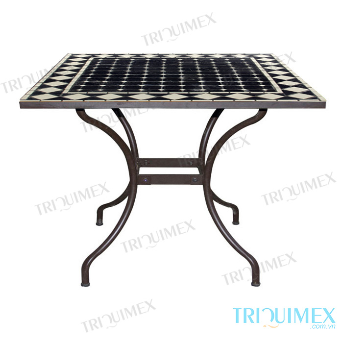 Square-Mosaic-Table-with-Wrought-Iron-Base-5