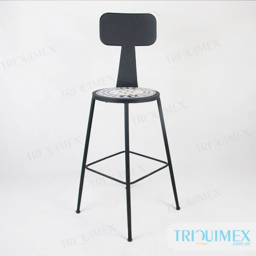 Aesthetic-iron-bar-chair-with-mosatic-seat (4)