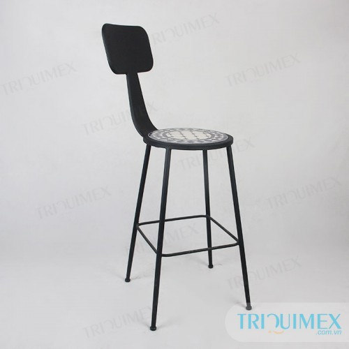 Aesthetic-iron-bar-chair-with-mosatic-seat (6)