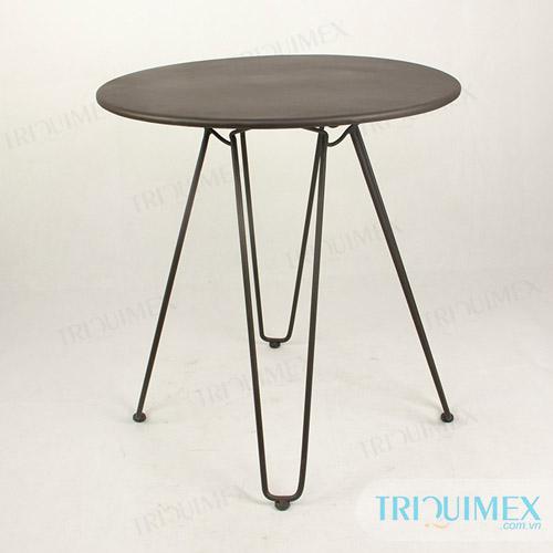 Powder-coated-wrought-iron-round-table