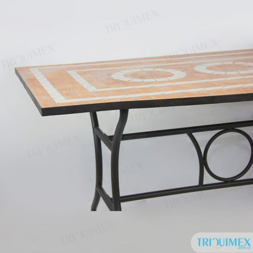 Rectangular-wrought-iron-dining-table-with-mosaic-top (7)