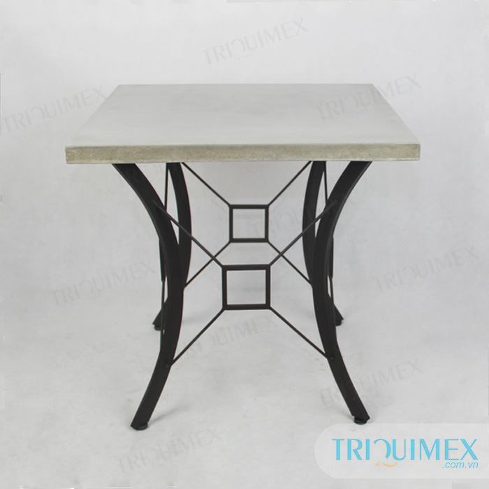 Charmant ... Square Lightweight Concrete Coffee Table Top (2) ...