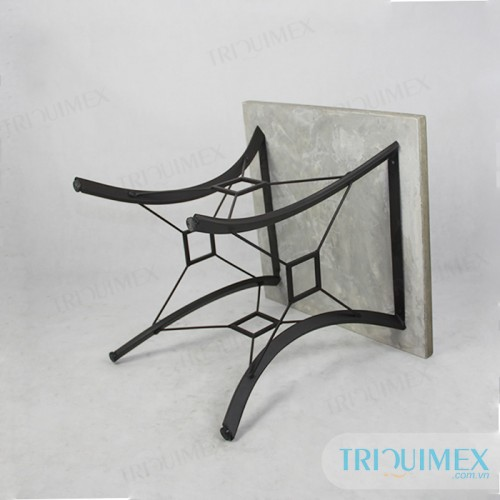 Square Lightweight Concrete Coffee Table