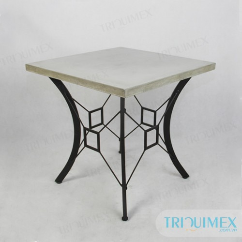 Delicieux Square Lightweight Concrete Coffee Table Top ...