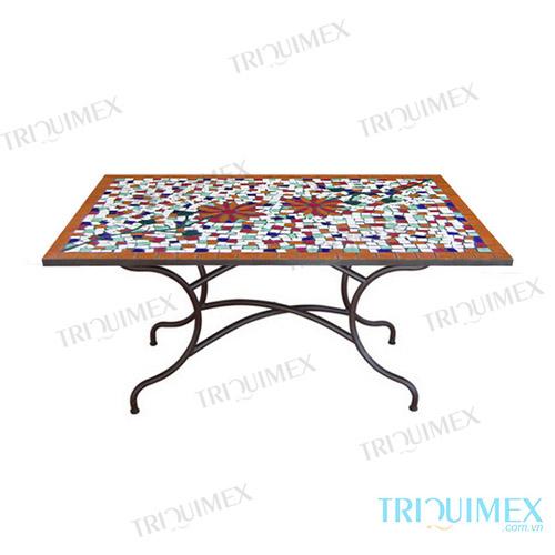 rectangular-mosaic-table