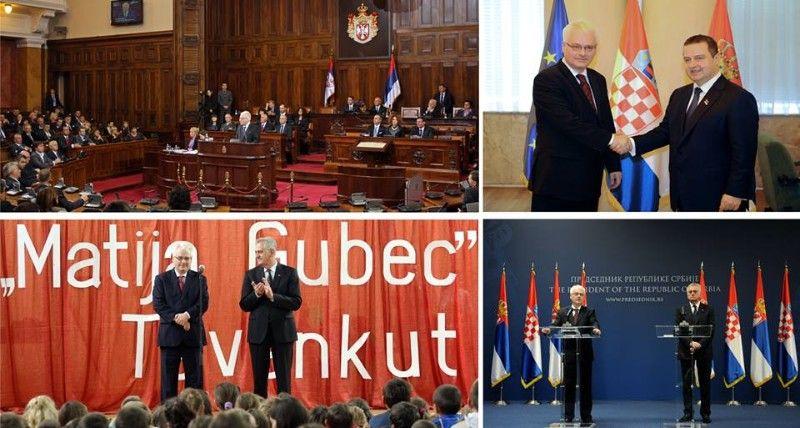 Josipović na Facebooku o posjetu Srbiji: Tragična prošlost nameće nam velike obaveze i zajedničku odgovornost