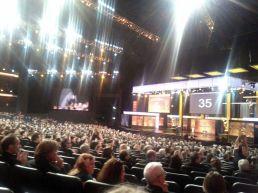 Prepuna dvorana na ceremoniji dodjele emmya
