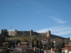 Tvrđava iznad Ohrida