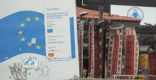 Skopska čaršija čeka ulazak u EU