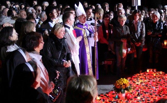 Valentin Pozaić na svetkovini Svih Svetih u crkvi Krista Kralja na Mirogoju