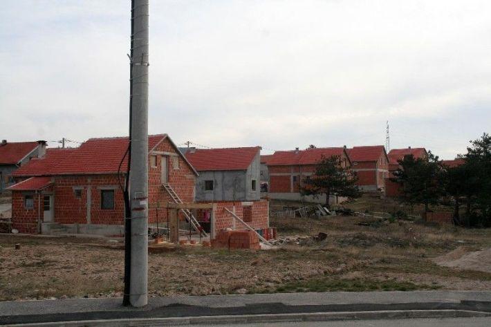 Novo naselje Golubić u izgradnji
