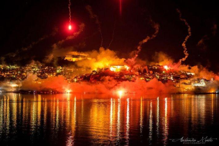 Noć bakli u Šibeniku foto: Antonio Matić