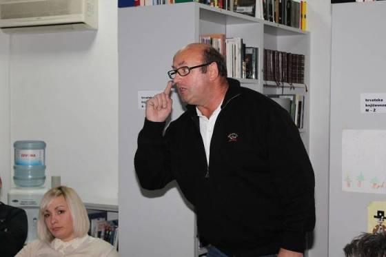 Nezavisni vijećnik Boris Bašić požalio se na prijetnje vijećnicima koji su bili protiv plana (Foto: Hrvoslav Pavić)
