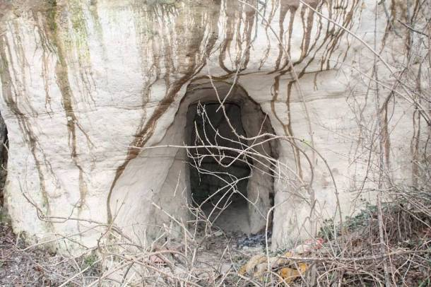 Jedan od ulaza u rudnik (Foto: Hrvoslav Pavić)