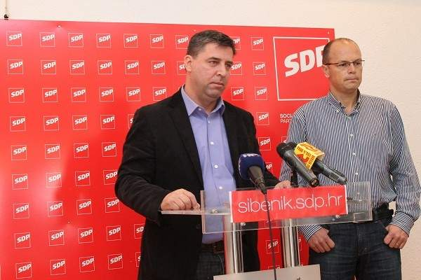 Franko Vidović i Joško Šupe - Konferencija za novinare GO SDP-a (2)