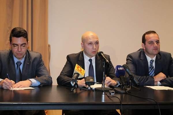 Igor Krajtmajer, Mihael Zmajlović i Ivan Klarin (Foto: Hrvoslav Pavić)