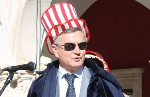 Šibenski gradonačelnik Željko Burić tijekom ovogodišnjih maškara