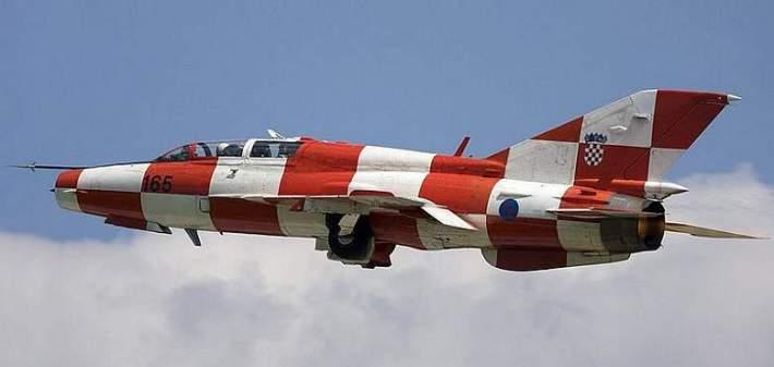 Hrvatski MIG-21: lijepo ga je vidjeti na hrvatskom nebu, a manje lijepo u ukrajinskom hangaru