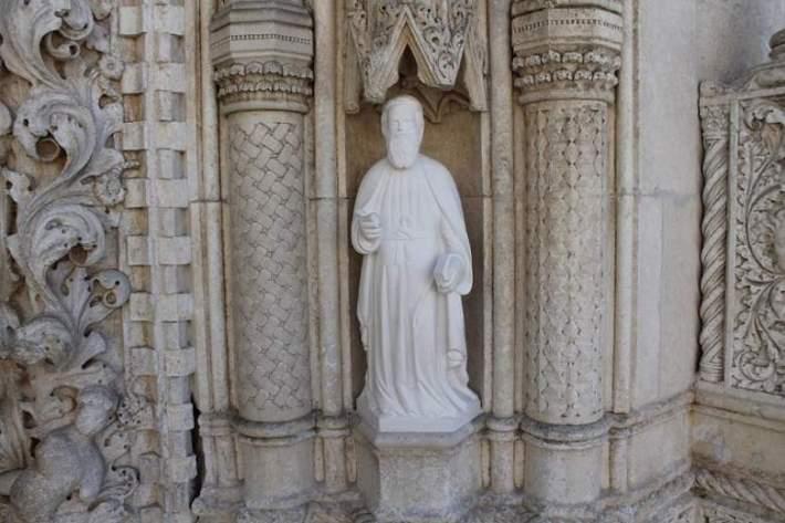 Portal katedrale sv. Jakova - kipovi apostola (3)