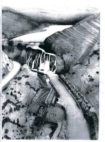 Crtež iz HEP-a projekta