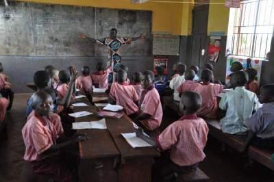 Škola u  Bunyami (Afrika)