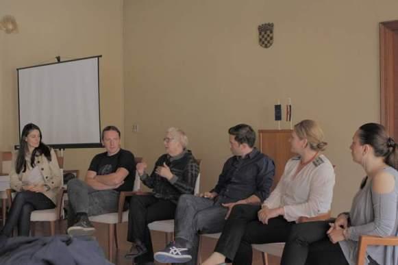 Panel diskusija u šibenskoj Gradskoj vijećnici (foto Nino Šolić)