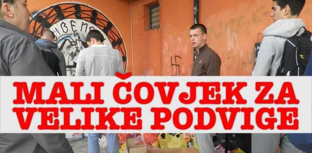 Portret tjedna / Mali čovjek za velike podvige: Je li tko od našeg establishmenta smočio noge u Savi?