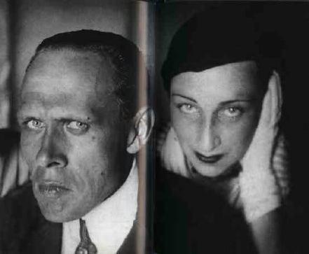 Daniil Harms s prijateljicom Alisom Poret 1930 godine.