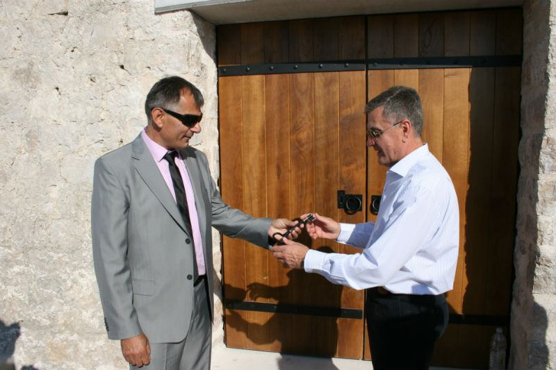 Gradonačelnik Burić preuzeo ključ tvrđave sv. Mihovila