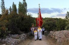 Procesija je išla kroz Jezersko polje do crkvice sv. roka