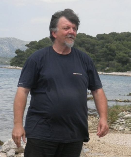Arheolog Željko Krnčević, snimila : J. K.