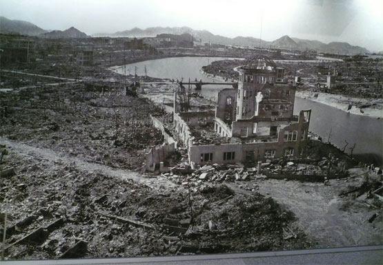 Hirošima: pustoš nakon eksplozije