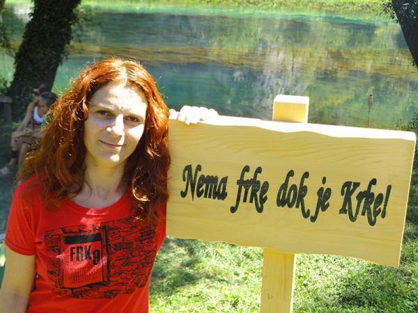 Inga Kukolj, organizatorica FRK-a (Foto: Goran Šimac)