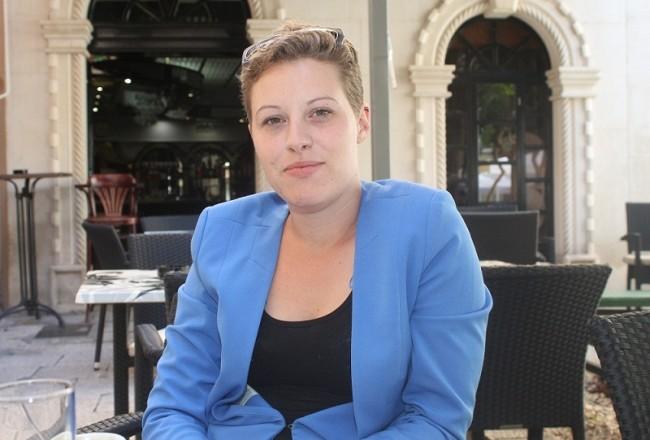 Iva Milutin, predstavnica Građanske inicijative za zdravu vodu (Foto: H. Pavić)