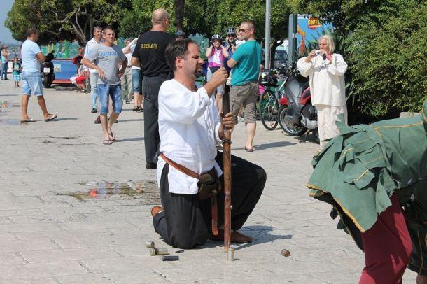 Sajam u srednjovjekovnom Šibeniku - zatvaranje (Foto H. Pavić) (2)