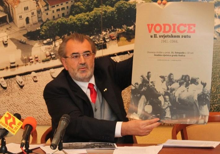 Josip Zanze - konferencija za novinare UABA Grada Vodica (Foto H. Pavić) (1)