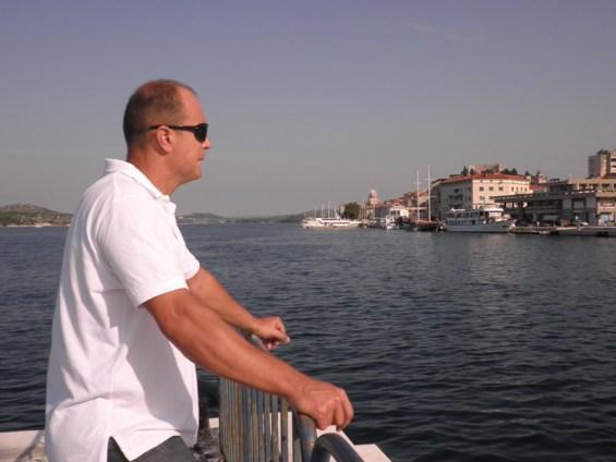 Joško Šupe, ravnatelj Lučke uprave Šibenik, snimila: J. K.