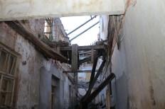 Viseće grede predstavljaju opasnost za posjetitelje