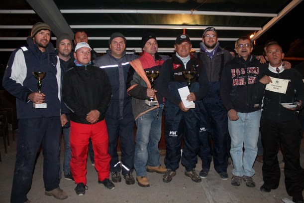 Pobjednici 7. Velikog lova na lignje Big Game Lignja Tisno 2014 (Foto: H. Pavić)