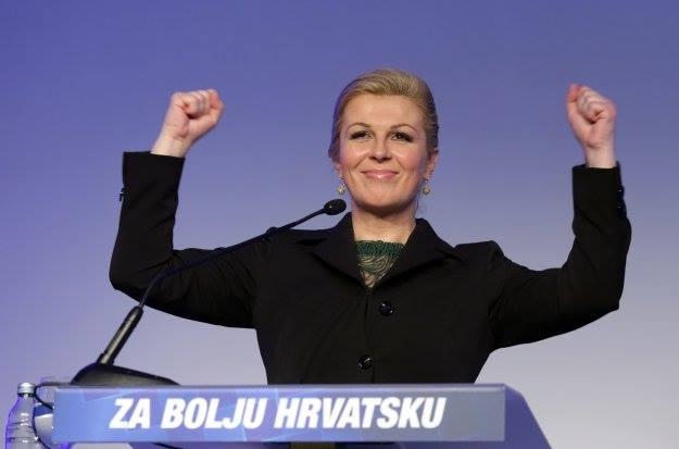Kolinda Grabar Kitarović - fotografija sa službenog Facebook profila predsjedničke kandidatkinje